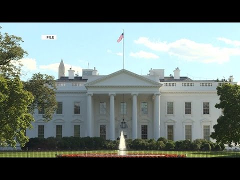 White house in lockdown