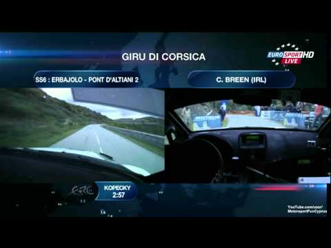 ERC 2013 France Day 1 - SS 6 Live - Part 1/4
