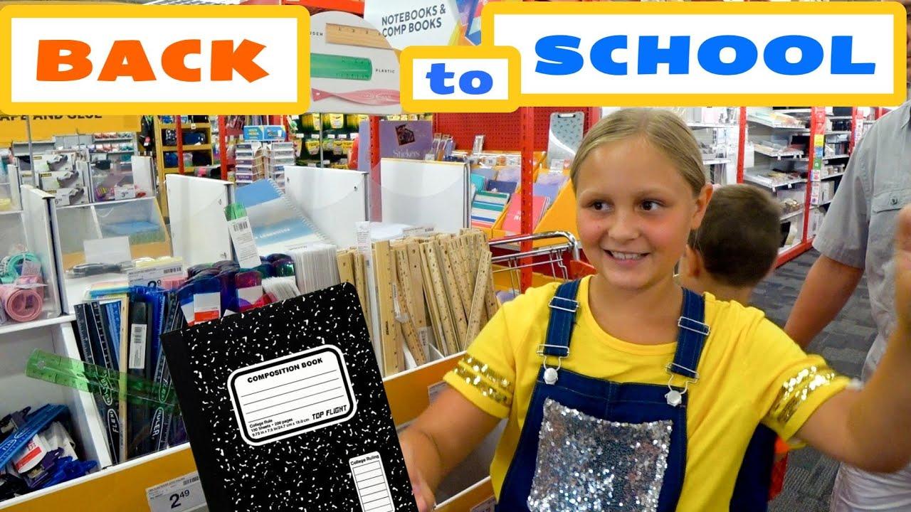 Покупки к школе 2021 Бэк ту скул в Америке  Покупаем канцелярию к школе  Таких цен еще не видели