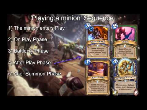 [Hearthstone Science] Battlecries Resolve AFTER The Minion Enters Play