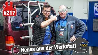 Plaketten-Schwindel?? 😡 Dieser Vito ist lebensgefährlich! | Feurige Fehlzündungen im Mercedes!