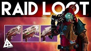 Destiny The Taken King RAID LOOT | King's Fall