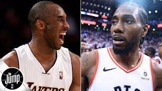Kawhi Leonard's up-and-under 'looks real Kobe/Jordanish' - Scottie Pippen | The Jump