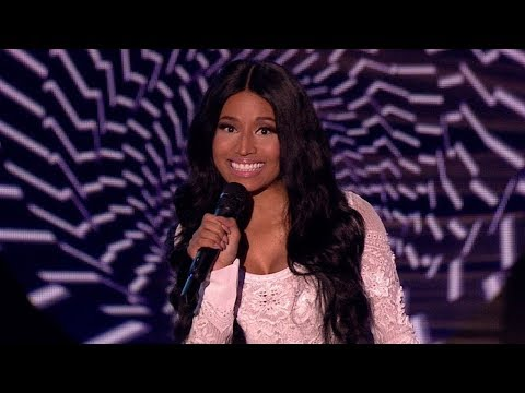 Nicki Minaj presenting EMA's 2014