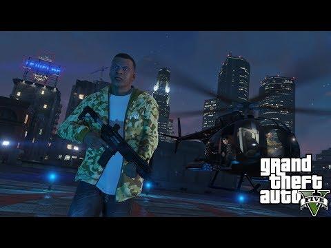GTA 5 FRANCE - ACHAT/VENTE DE DROGUE - LA CITÉ #1