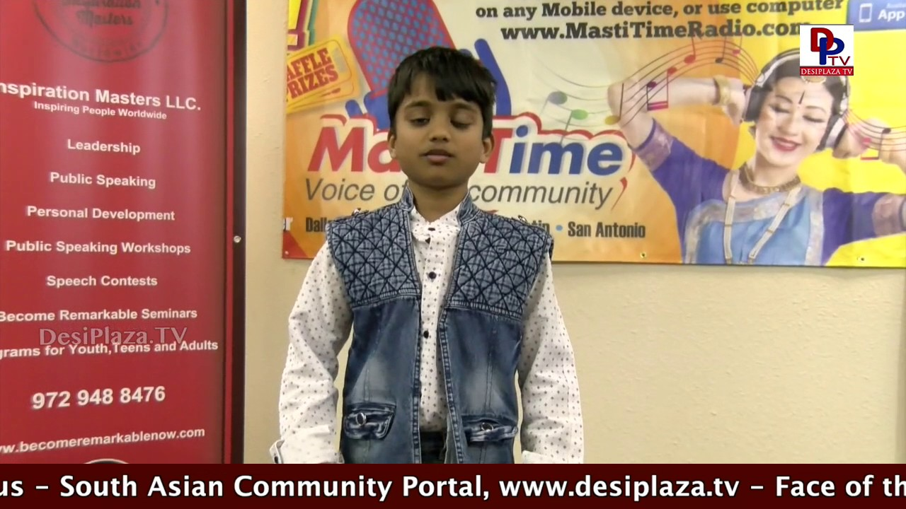 Karunya Speaking at Persuasive speech Competitions - DPTV & Inspiration Masters