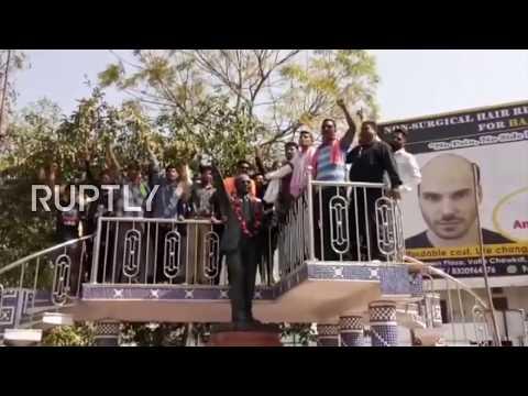 India: Adivasis rally against Statue of Unity inauguration