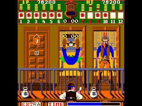 Arcade Game: Bank Panic (1984 Sanritsu / Sega)