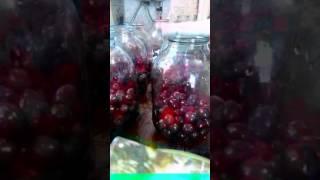 видео компот из черешни