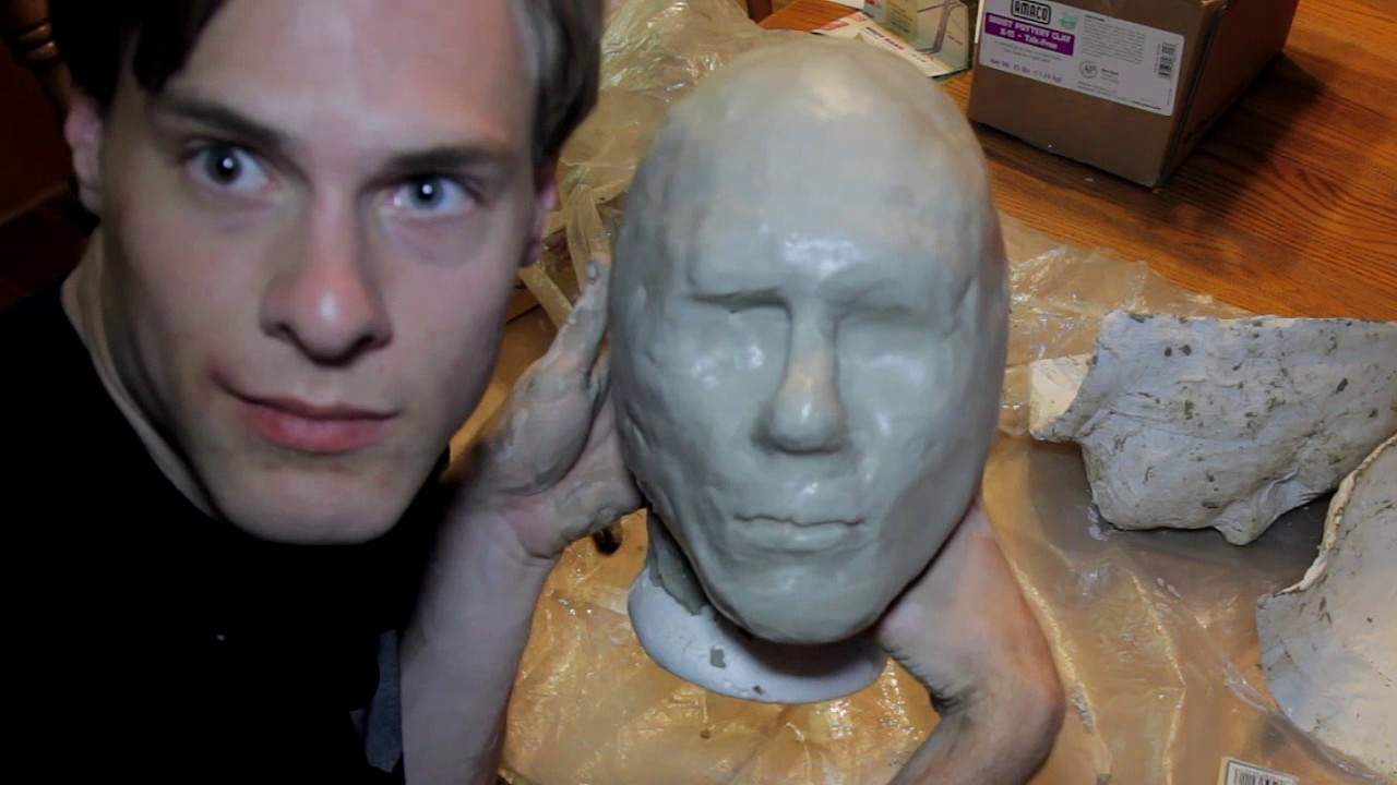 Tutorial how to make latex mask youtube.