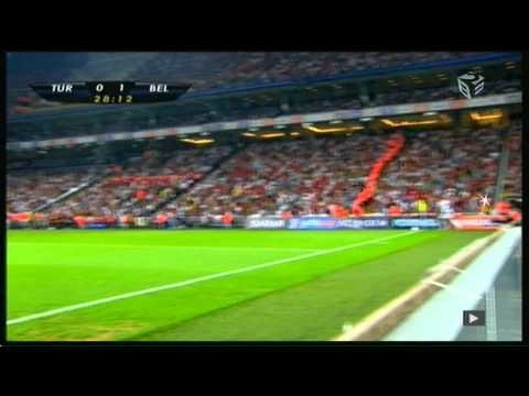 Turkey vs. Belgium - Daniel Van Buyten's goal (highlight)