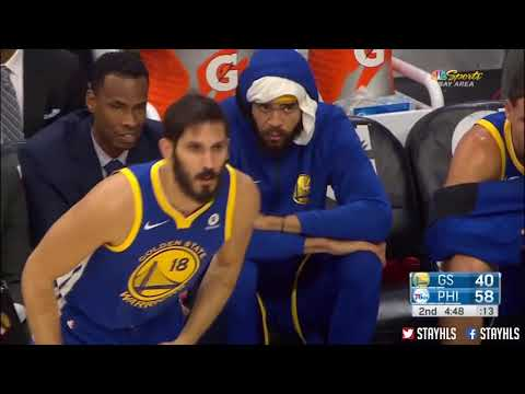Golden State Warriors vs Philadelphia 76ers Full Game Highlights, Noviembre 18, NBA