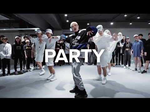 Party  Chris Brown ft Gucci Mane, Usher  Junsun Yoo Choreography