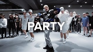 Party Chris Brown Ft Gucci Mane Usher Junsun Yoo Choreography