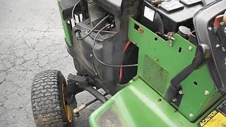 John Deere 316 Onan Engine