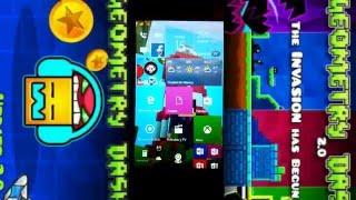 COMO DESCARGAR GEOMETRY DASH 2.0 GRATIS EN WINDOWS PHONE SIN PROGRAMAS