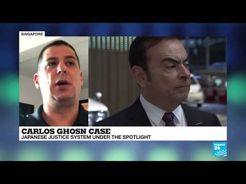 Carlos Ghosn case puts Japanese justice system in spotlight