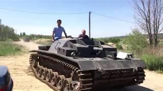 Обзор танка. Самодельная немецкая САУ StuG III