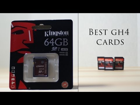 Best GH4 Memory Cards - Don't Waste your $ Use These Cards! What Cards to use
