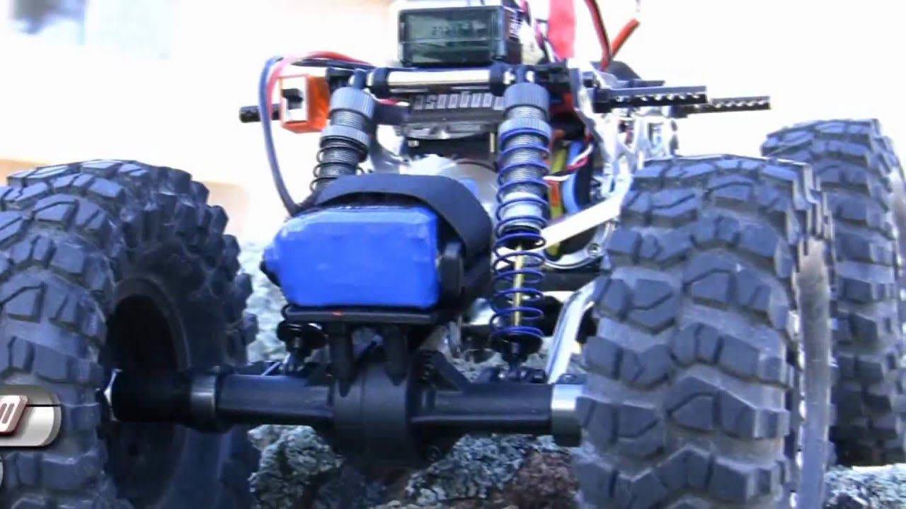 Losi Mini Rock Crawler Full Mods