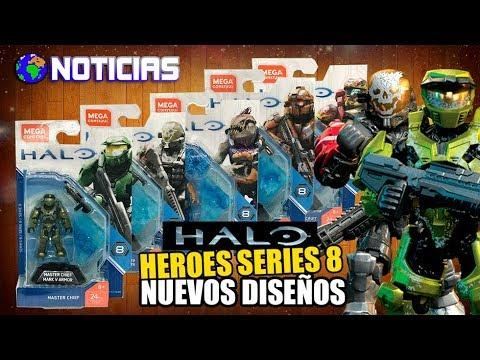 NOTICIAS | HALO HEROES SERIES 8 | NUEVOS DISEÑOS | MEGA CONSTRUX