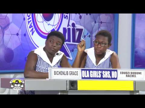 NSMQ2016: Koforidua Sec Tech- Methodist Girls' SHS- OLA SHS,