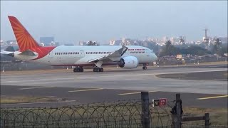 Back 2 Back Air India Boeing 787 Takeoff From Mumbai Airport
