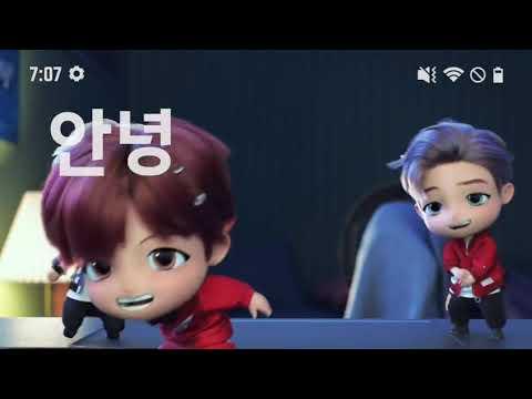 Bts Tiny Tan Characters Magic Door Idol Vs Mic Drop Youtube