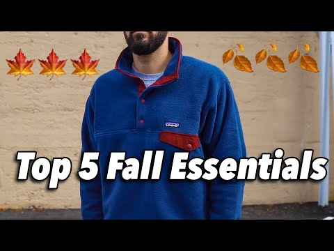 TOP 5 FALL ESSENTIALS YOU CAN BUY RIGHT NOW! FLANNELS, JACKETS & HOODIES