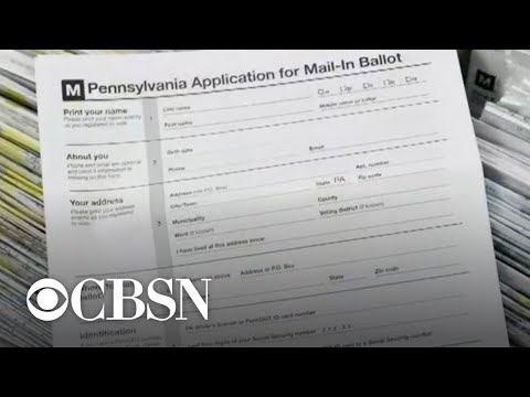 """How """"naked ballots"""" could affect who wins Pennsylvania"""