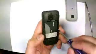 Замена гнезда зарядки на Nokia C3