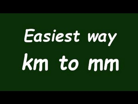Wow Convert Km To Mm Kilometer To Milimeter With Example
