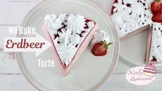 BLITZREZEPT I perfekt für den Sommer I 🍓 No Bake Erdbeer Torte