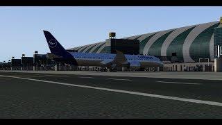 PREPAR3D 4.4   Boeing 787-900 DreamLiner   Dubai - Frankfurt   VATSIM   start