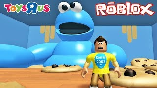 Roblox Escape the Cookie Monster in Toys R Us Obby ! || Roblox Gameplay || Konas2002