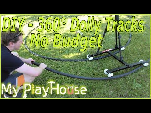 How to DIY make 360 Degrees Dolly Tracks - No Budget - 360