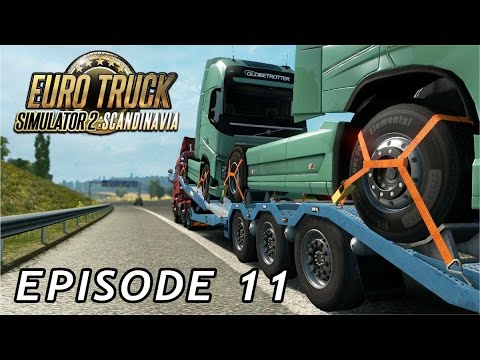 Let's Play Euro Truck Simulator Scandinavia | Episode 11 - Back in the UK?