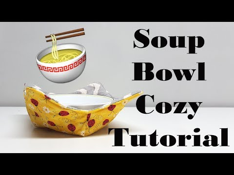 Quick Easy Soup Bowl Cozy