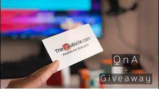 [OPEN] How to get Sponsored by a Cubing Company? | QnA #3 + $40 Giftcard Giveaway! | TheCubicle.Com