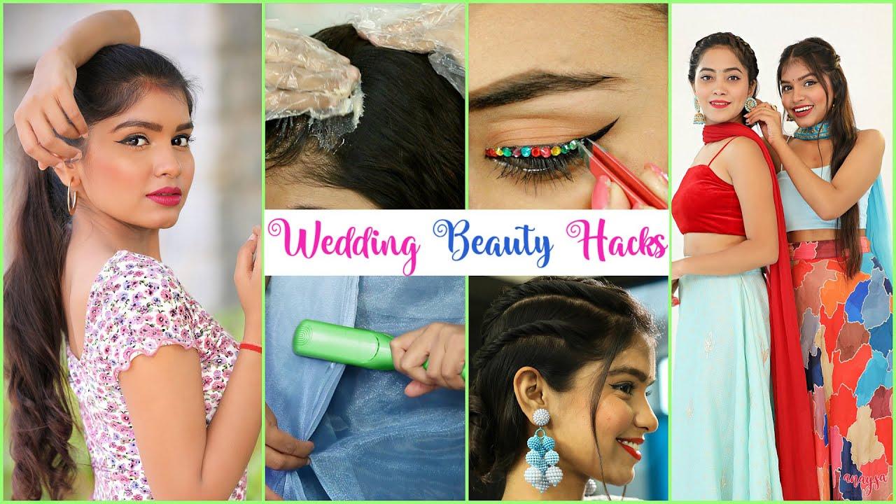 Wedding Beauty Hacks - Desi Jugaad Episode #3 | Anaysa