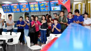 Domino's Pizza Cheer In Vietnam