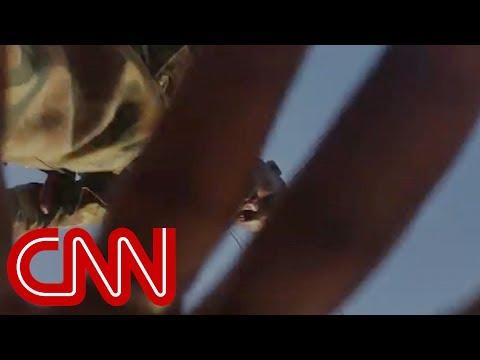 Woman films tense encounter before she's brutally beaten