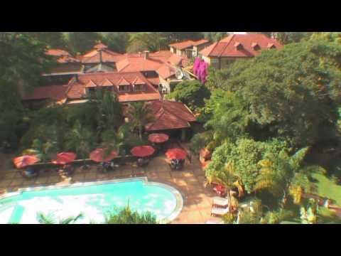The Fairview Hotel in Nairobi, Kenya.