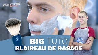 BIG TUTO - Blaireau de rasage