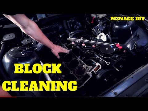 E36 Block Cleaning