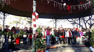 Santo Nino Choir   TREE LIGHTING CEREMONY SANTA FE PLAZA 2018