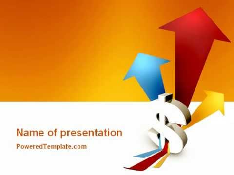 Rate Of Exchange PowerPoint Template By PoweredTemplate.com