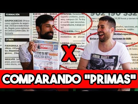COMPARANDO ANÚNCIO DE PROSTITUTA - Brasil x Portugal (Maurício Meirelles e António Raminhos)