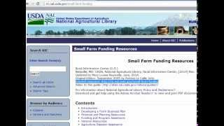 A Guide to Small Farm Funding Resources