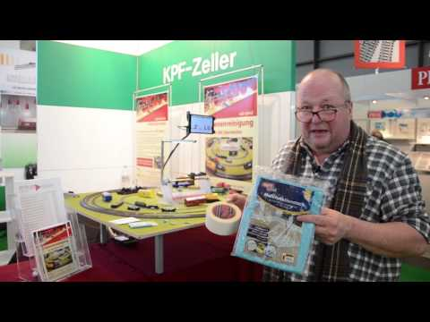 KPF 2017 Multi Scale Track Cleaning Cars Presented at the International Toy Fair